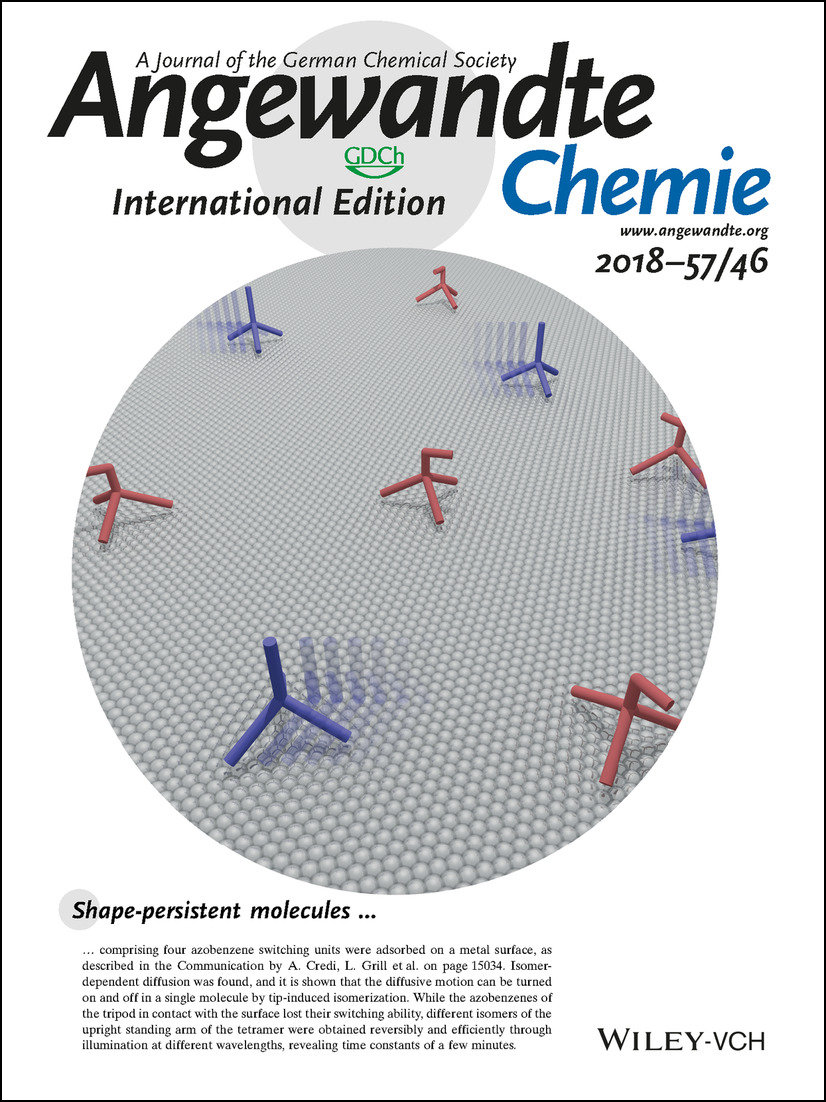 Photoswitching of single azobenzene tetramers on a metal surface