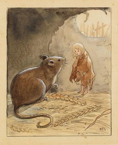 Mignolina, illustrazione di Elsa Beskow