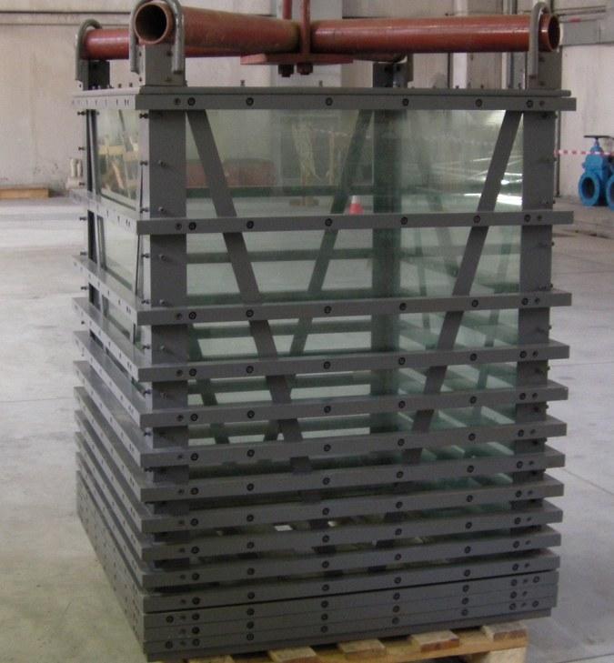 Volume di calibrazione in vetro