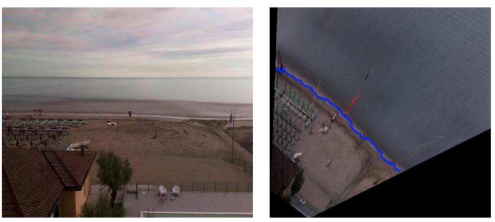 Videomonitoraggio della spiaggia di Riccione
