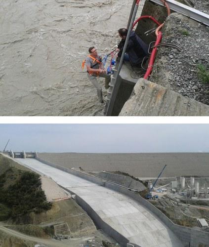 Impianto idroelettrico di Banja sul fiume Devoll (Albania)